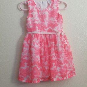 Carters 18M pink floral dress